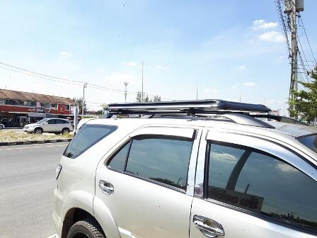 แร็คหลังคา Carryboy รุ่น CB 535 100X160 Cm สีดำ