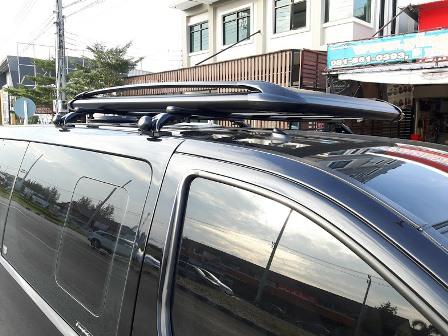 แร็คหลังคา 100X160 Cm +ขาจับ Hundai H-1 (Carryboy)
