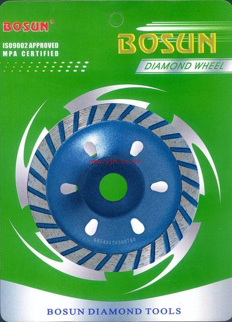 ใบเพชรถ้วยเจียรคอนกรีต Bosun 4 นิ้ว BWMS