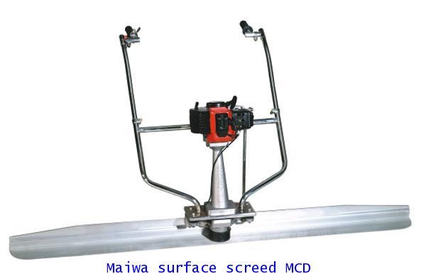 เครื่องปาดปูน MAIWA MCD
