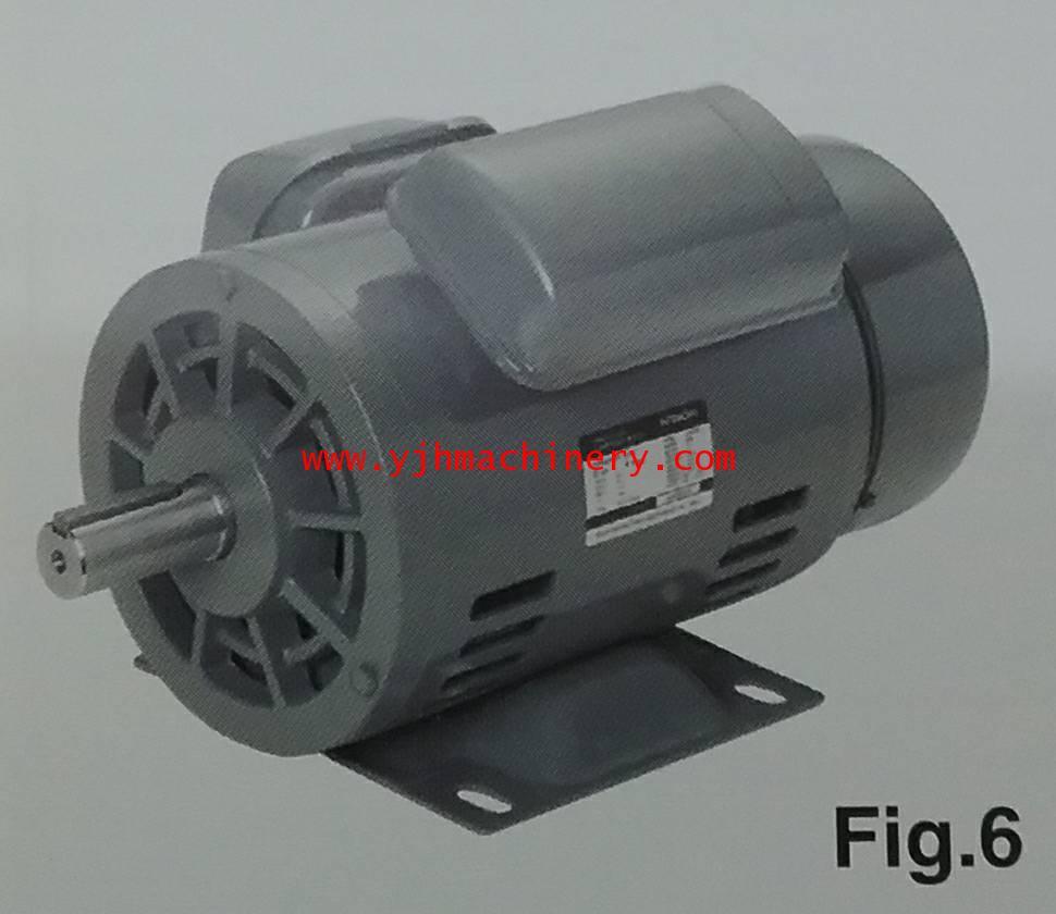 มอเตอร์ Hitachi รุ่น EFOUP-KQ ขนาด 3 HP