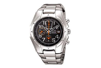 ALBAนาฬิกาสปอร์ตสุดเท่ห์ ลงตัวด้วยดีไซน์ที่มีเอกลักษณ์เฉพาะตัวมีหน้าดำและขาว