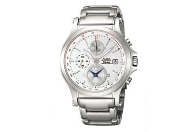 ALBA• นาฬิกาจับเวลาดีไซน์คลาสสิค มีหน้าดำและขาว