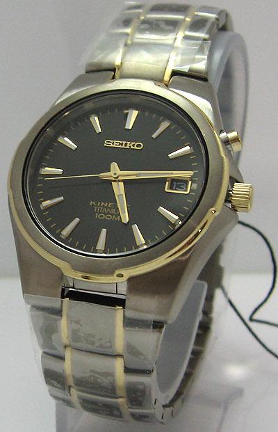 seiko kinetic titanium นาฬิกาที่ไม่ต้องเปลี่ยนถ่าน รุ่นใหม่ล่าสุด 2 กษัตริย์