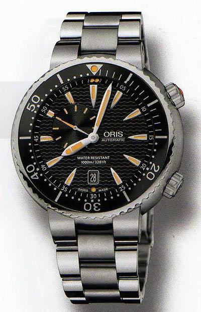 Oris Diver Small Second, Date ดำน้ำรุ่นใหม่ 1000m