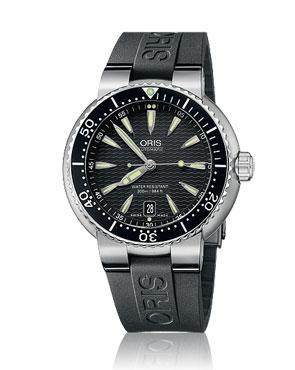 Oris Divers Date สายยาง