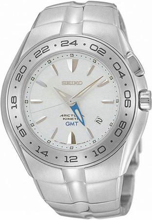 Seiko Arctura Kinetic GMT Watch SUN001