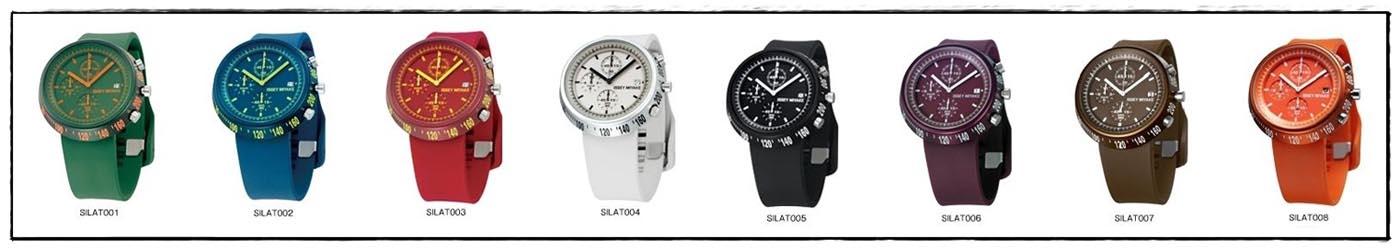 นาฬิกาข้อมือ ISSEY MIYAKE Trapezoid AL Men Ladies Watch Ref No. SILAT007 2