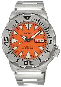 SEIKO Divers Automatic Orange Monster รุ่น SRP309K1