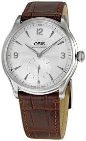 Oris Artelier Hand Winding, Small Second 396 7580 4051 LS ราคาพิเศษ โทรสอบถาม