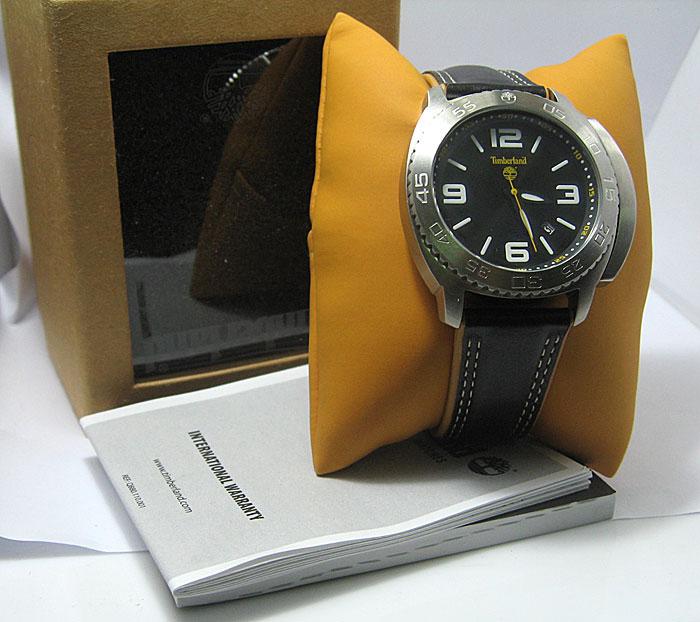 นาฬิกาTIMBERLAND Men\'s Abington Black Watch มีการ์ดกันมะยม