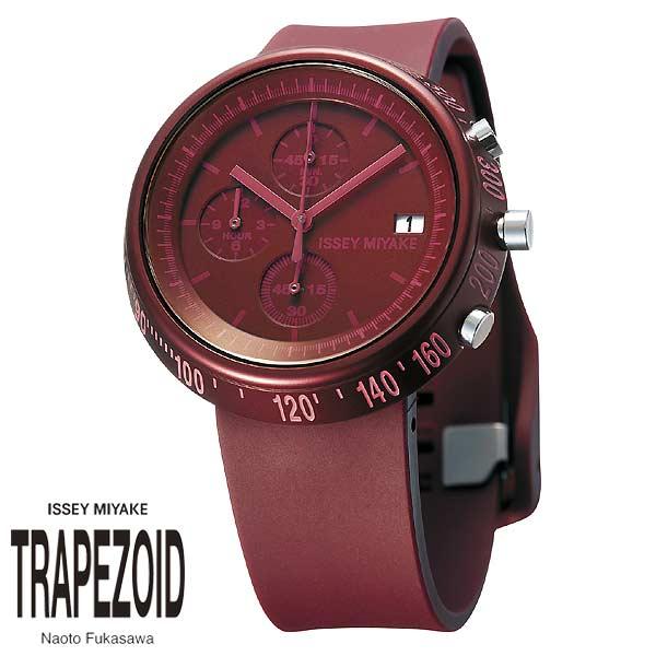 ISSEY MIYAKE Trapezoid AL Men  Ladies Watch รุ่น SILAZ007