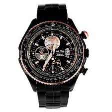 ALBA SignA Sport Chronograph Gent AF3F02X1 black ip
