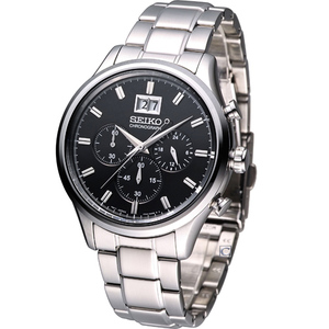 SEIKO Classic Chronograph Men\'s watch รุ่น SPC083P1