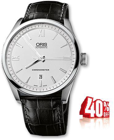 Oris Artix Chronometer, Date 737 7642 4071 FC ราคาพิเศษ โทรสอบถาม