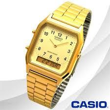 CASIO  Standard Analog - Digital รุ่น AQ-230GA-9BMQD