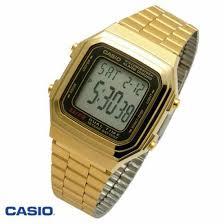 CASIO Digital Gold Tone รุ่น A178WGA-1ADF