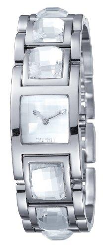 Esprit Women\'s Quartz Watch Rhinestone White ES102252001