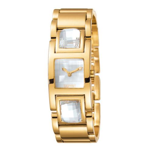 Esprit Rhinestone Gold ES102252003 For Women