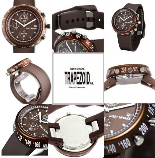 นาฬิกาข้อมือ ISSEY MIYAKE Trapezoid AL Men Ladies Watch Ref No. SILAT007 6