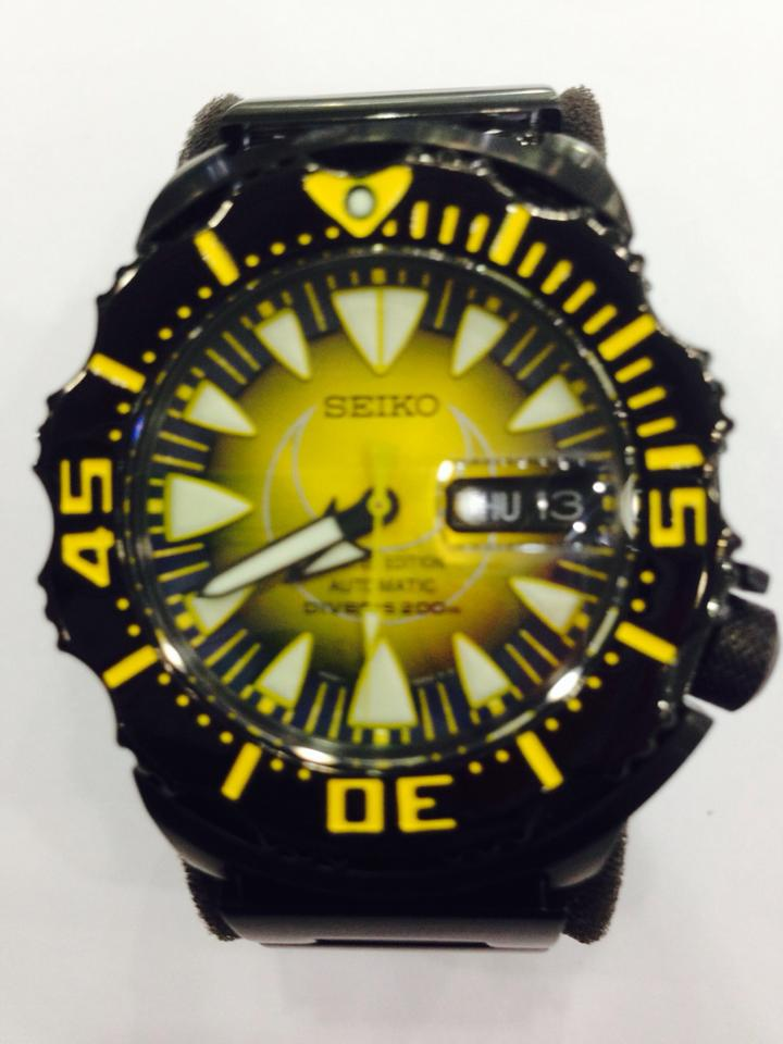 SEIKO The Moon Monster Limited Edition by KING POWER SRP 457