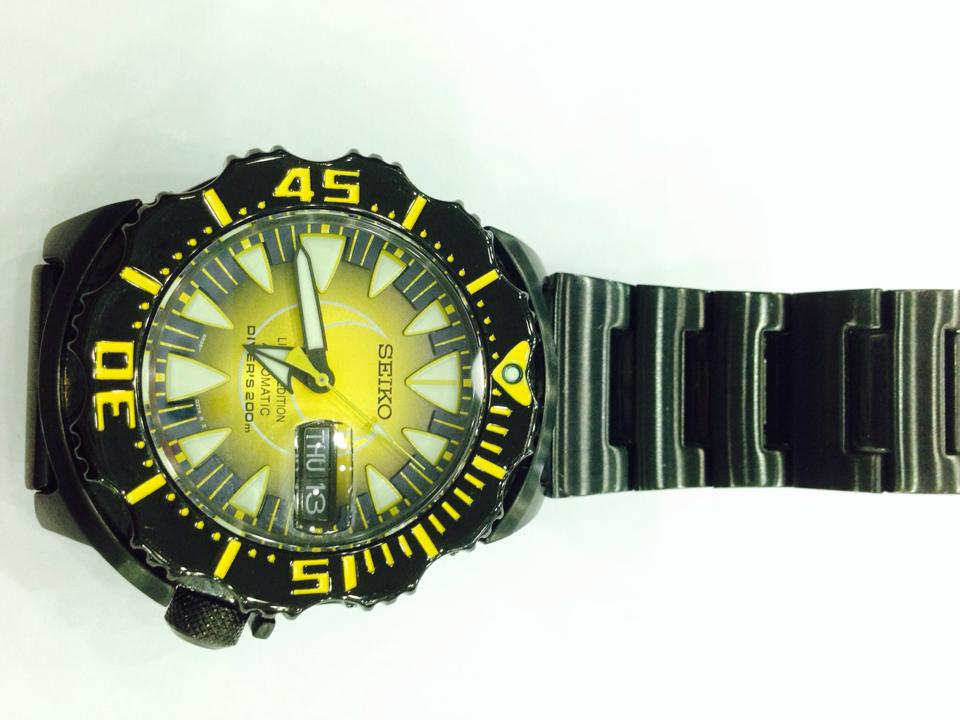 SEIKO The Moon Monster Limited Edition by KING POWER SRP 457 2