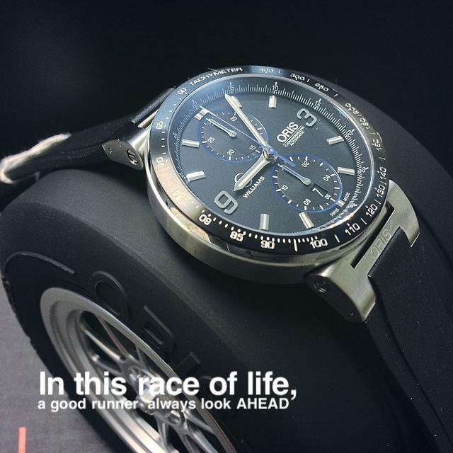 Oris williams F1 team Limited Edition 773 7685 4184 SET RS 4