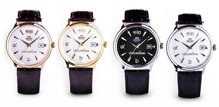 Orient นาฬิกาข้อมือ รุ่น FER2400 Set 4 เรือน เลขพิเศษเรียง 345
