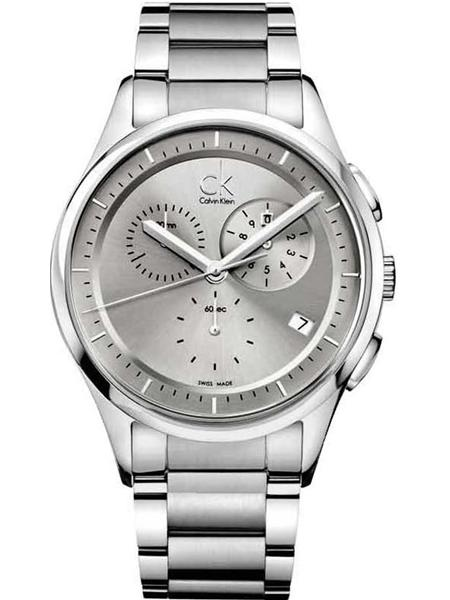 Calvin Klein CK Chronograph Mens Watch K2A27126 ราคาพิเศษ
