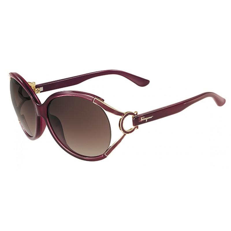 SALVATORE FERRAGAMO Sunglasses SF600S 604 Burgundy