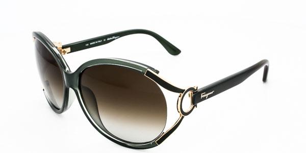 Salvatore Ferragamo GREEN Woman Sunglasses SF600S-315