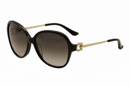SALVATORE FERRAGAMO Sunglasses SF670SR 001 Black
