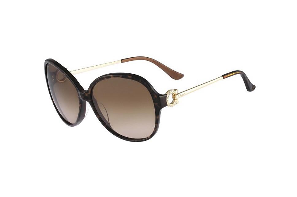 SALVATORE FERRAGAMO Sunglasses SF670SR 217 Brown Horn