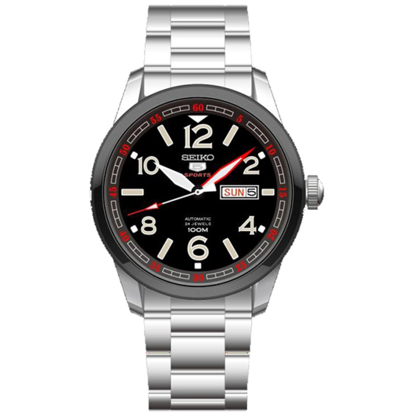 Seiko 5 Sports Automatic SRP629 Men\'s Watch - Silver