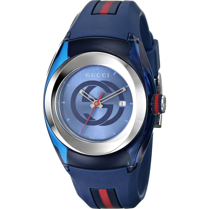 Gucci Sync XXL Blue Dial 46mm Men\'s Watch YA137104