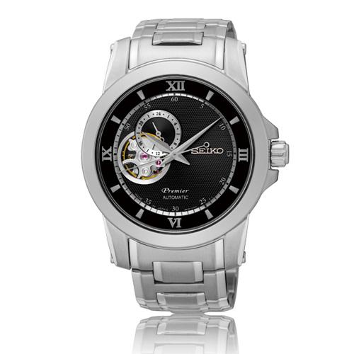 SEIKO Premier นาฬิกาข้อมือสายสแตนเลส รุ่น SSA321J