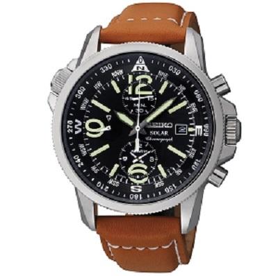 Seiko Solar Chronograph Men\'s watch รุ่น SSC081P1