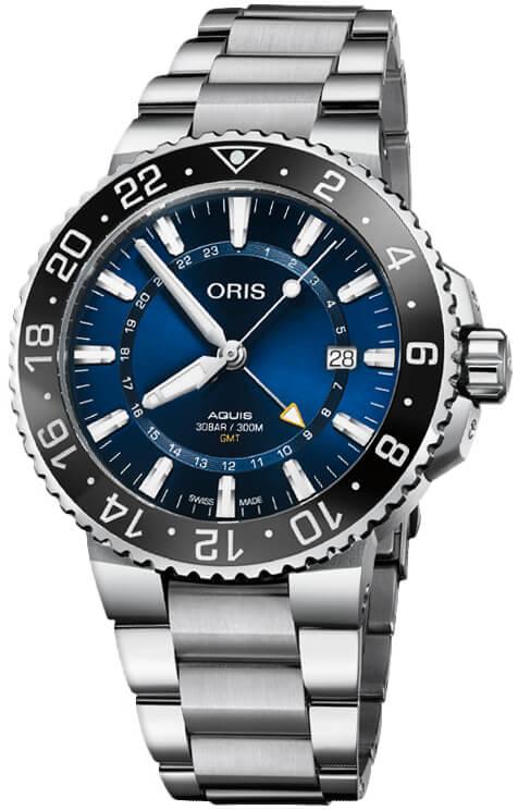 Oris Diving Aquis Date Steel Automatic watch for Men 01 798 7754 4135-07 8 24 05PEB